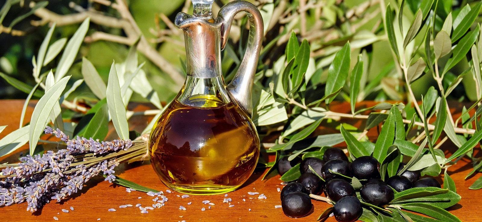 produit du terroir - huile d'olive lavande