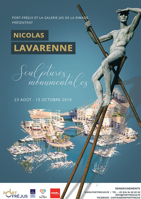 affiche Nicolas Lavarenne