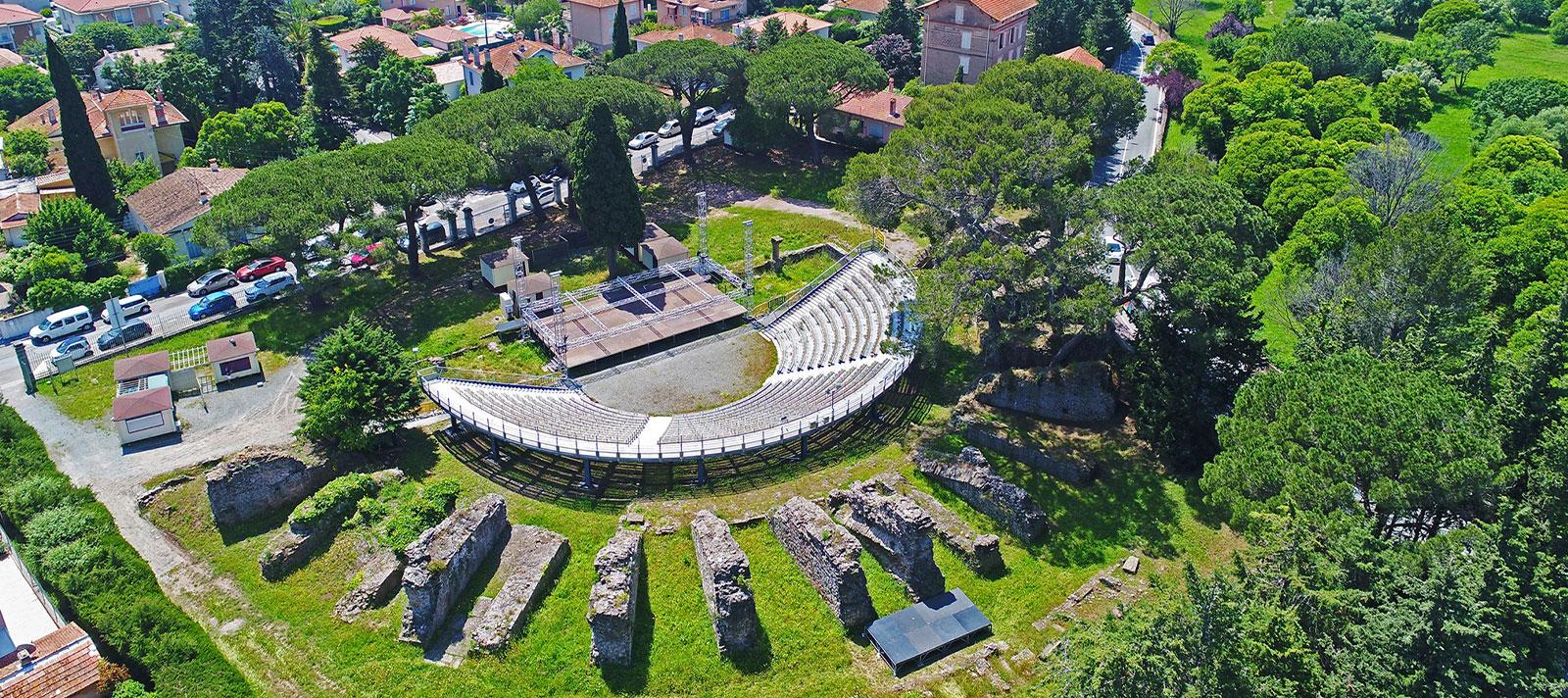 théatre romain à Fréjus