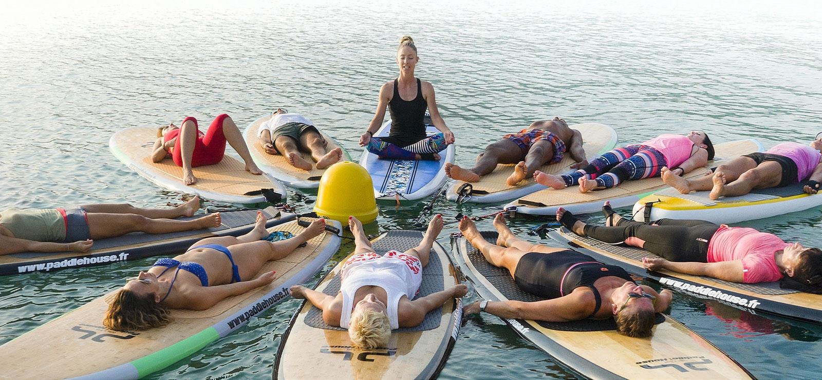 paddle yoga seance