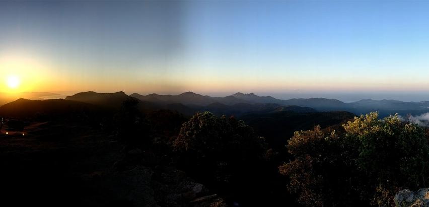 lever de soleil au mont vinaigre