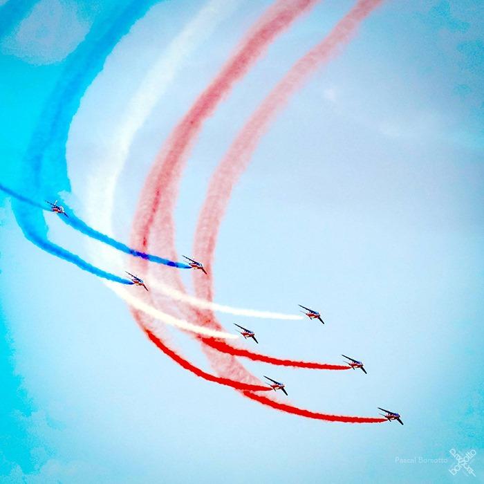 Patrouille de France 15 aout