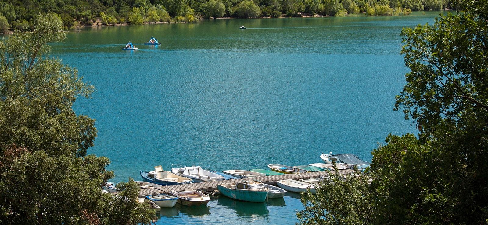 pays de fayence saint-cassien - restaurant lac