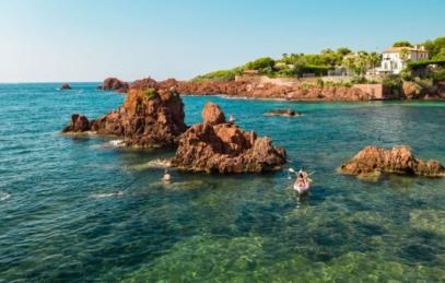 esterel cote mer mediterraee côte d'azur