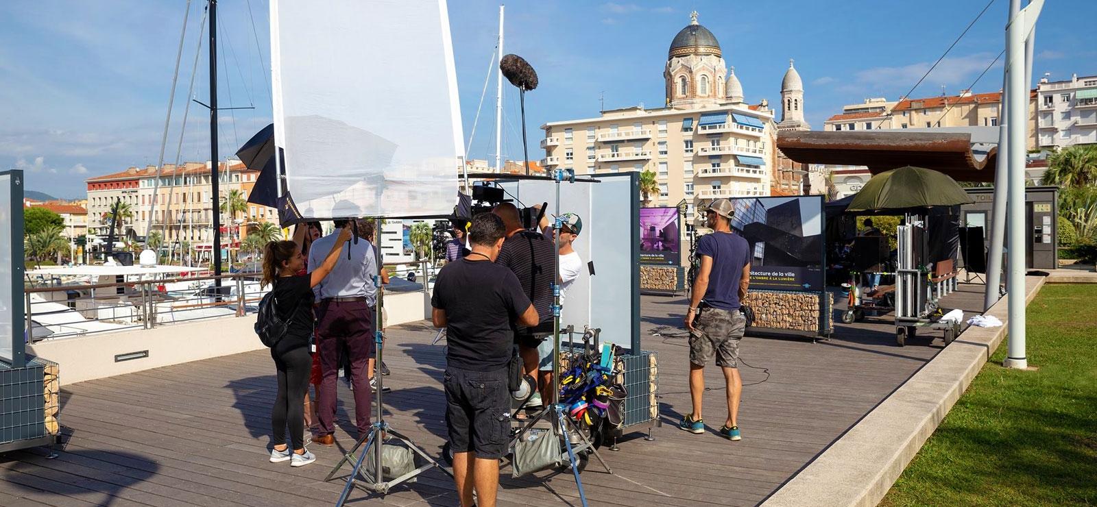 film - esterel - tournage