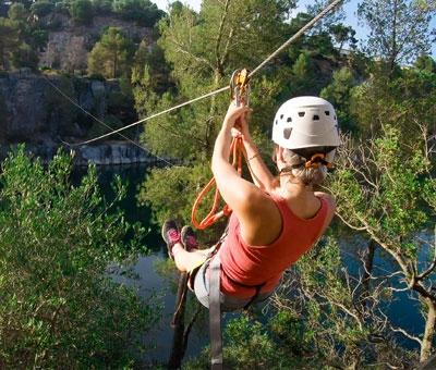 top activites evjf - parc aventure