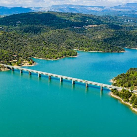 pays de fayence - lac de saint cassien