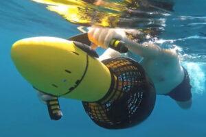 activite bon cadeau insolite - scooter sous-marins