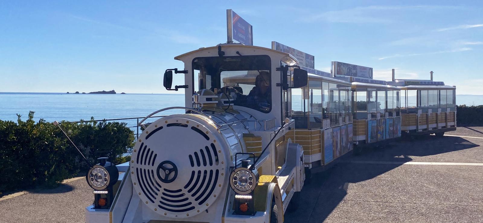 Saint-Raphaël en petit train touristique