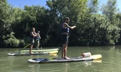 Paddle sur l'Argens