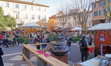 Le marché de Noël gourmand