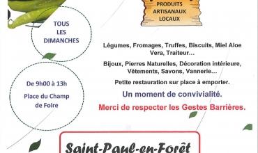 Marché de Saint Paul-en-Forêt