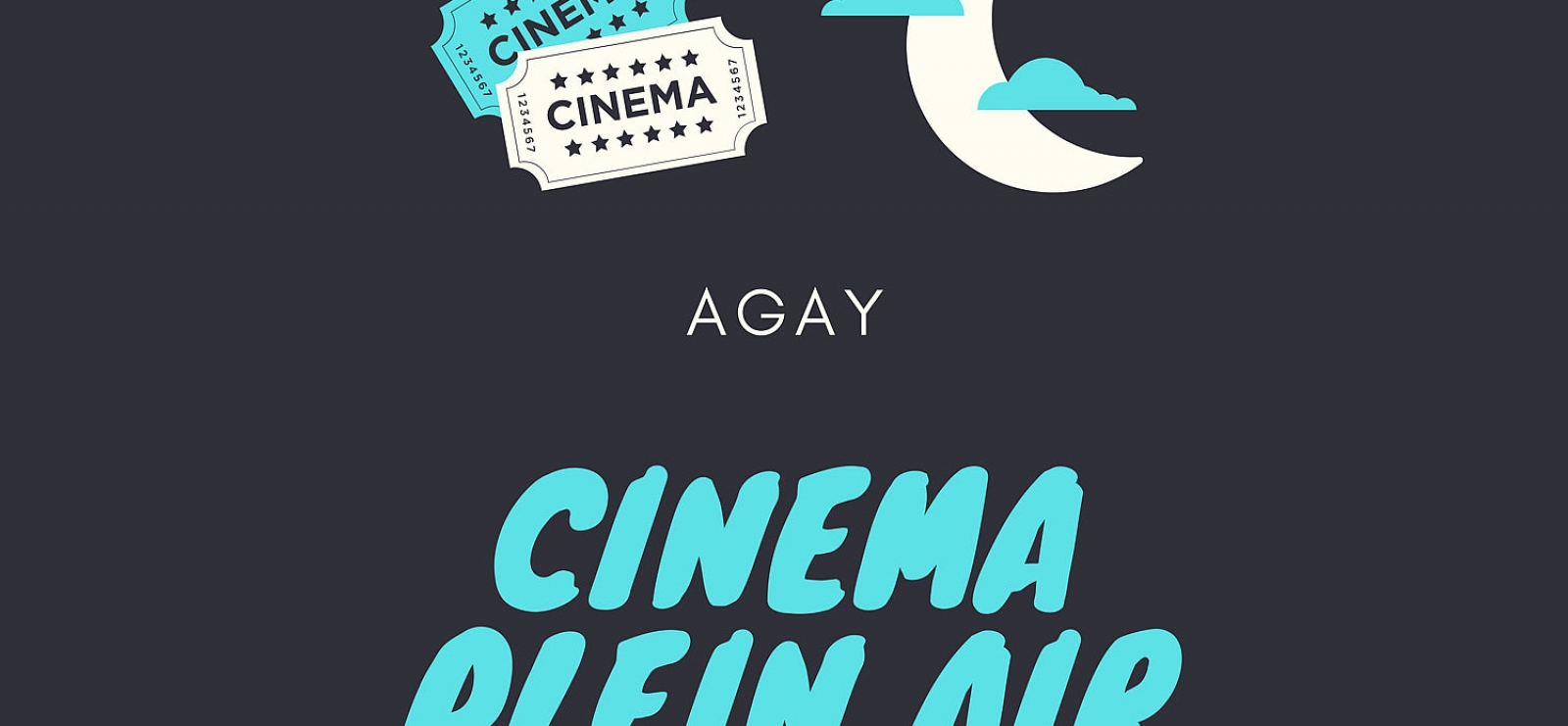 Cinéma en plein air - AGAY