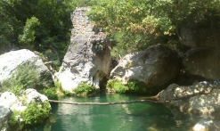 bassins d'eau naturels