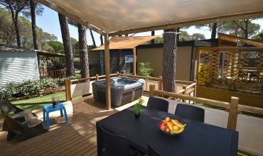 Terrasse de votre cottage