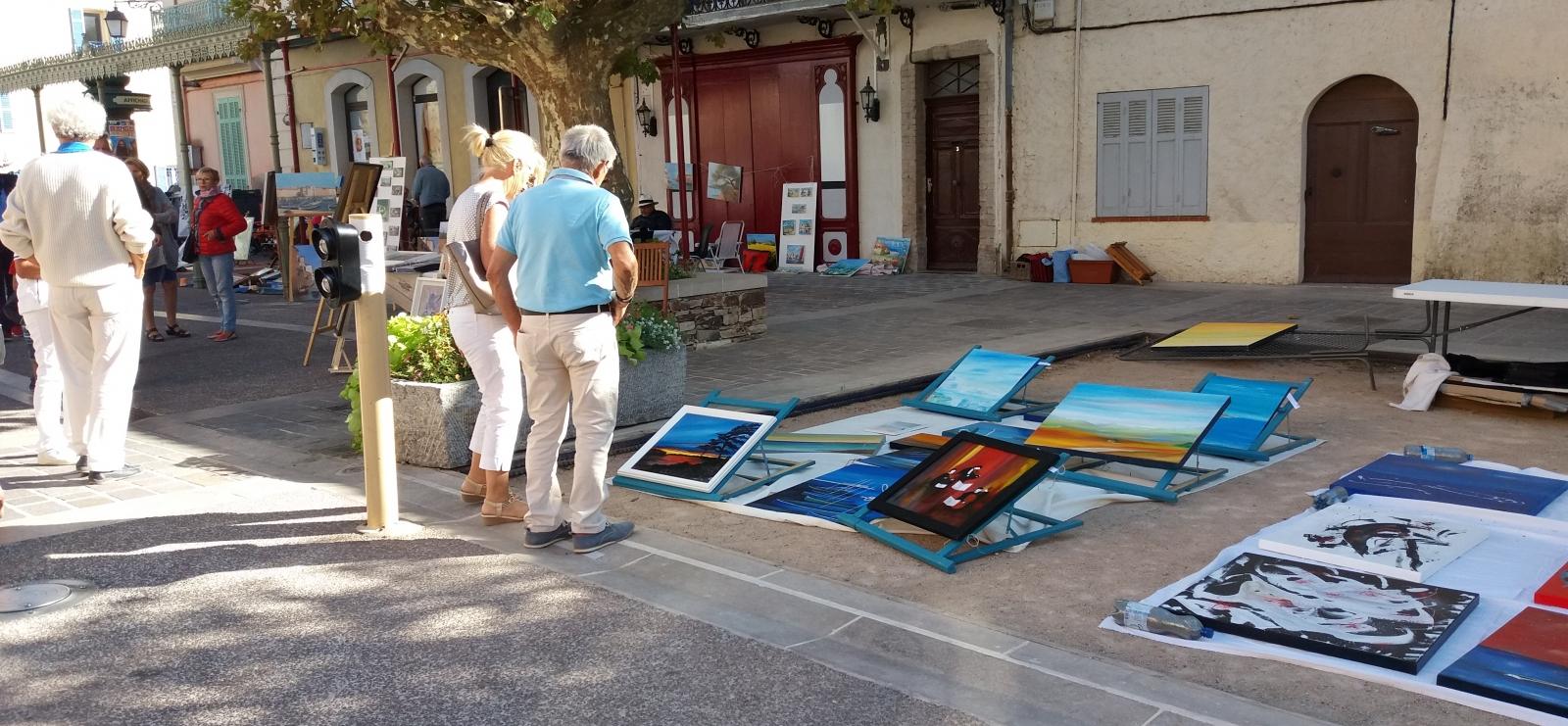 Fête des peintres au village