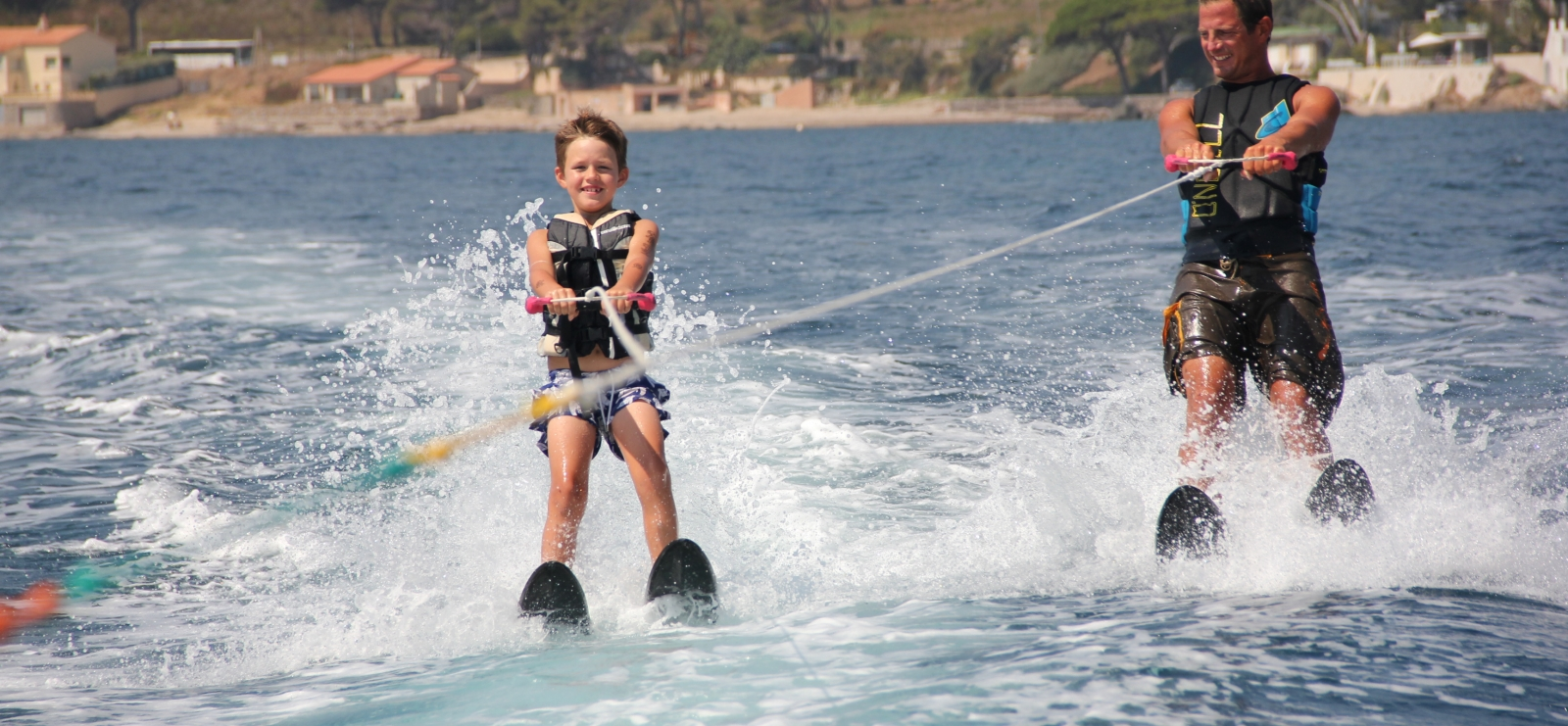 Ski Nautique/ wakeboard sur mer - Les Issambres
