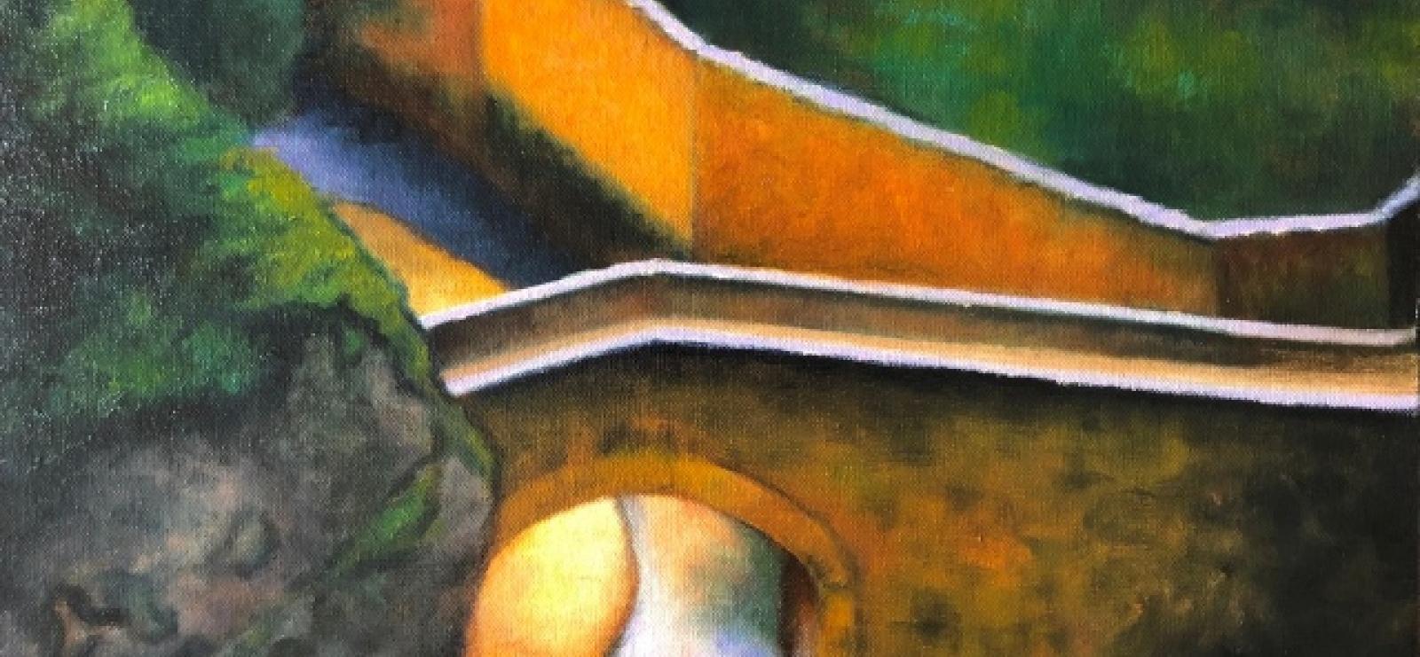 Exposition : Géraldine Burdis - artiste peintre   Art et Vin