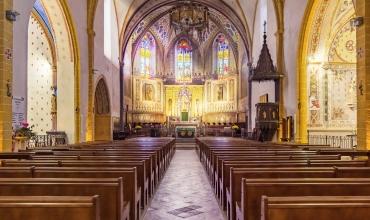 Exposition sur la restauration de l'église Saint-Pierre Saint-Paul et hommage à l'Abbé Deschamps