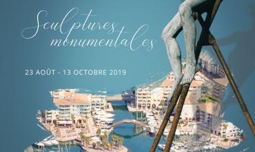 Sculptures monumentales à Port Fréjus – Nicolas LAVARENNE