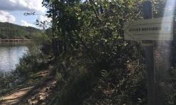 Panneau sentier