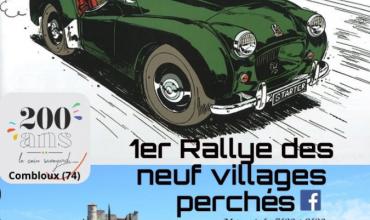 1er rallye des 9 villages perchés