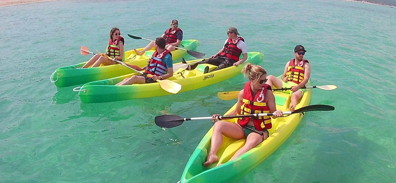 Location de canoë kayak - Plage de la Gaillarde