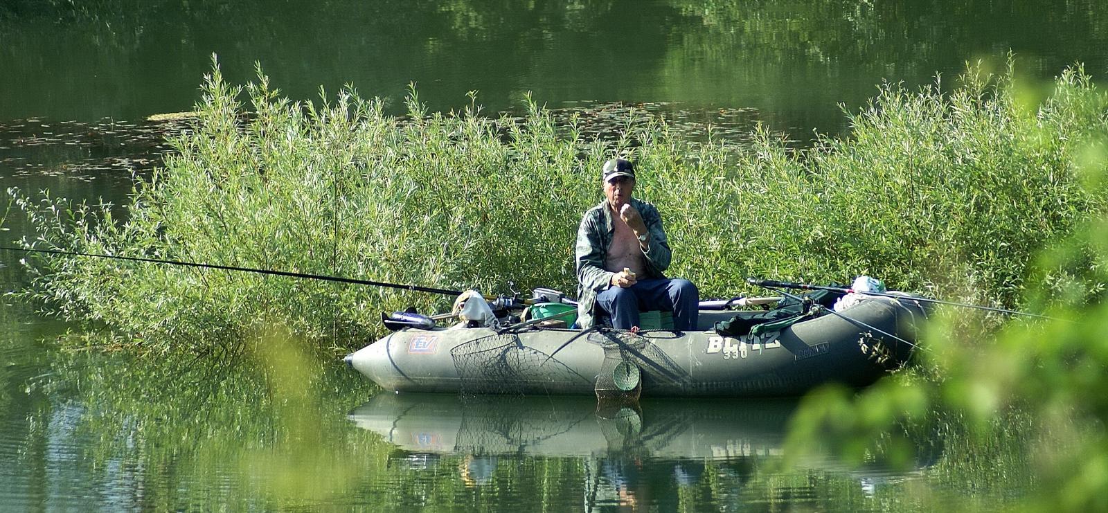 pêche au lac de St Cassien
