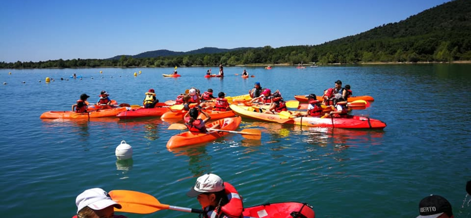 Locations Pédalos, Kayak, Catamaran, Paddle - Lac de St Cassien