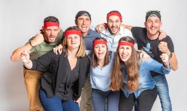 L'équipe d'Estérel Aventures - les distillateurs d'enthousiasme