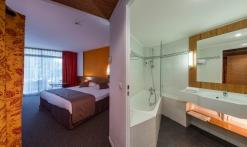 Chambre et sa salle de bain