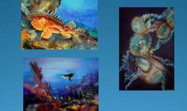 Exposition de peinture 'Les fonds marins'