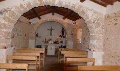 Intérieur de la Chapelle St Cassien des Bois