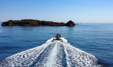 Sortie en mer Agay : Estérel et Calanques