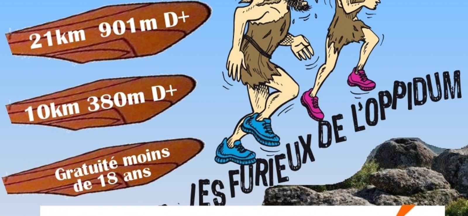 Affiche annulée Trial Les Furieux de l'Oppidum