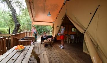 Tente safari Domaine de la Bergerie