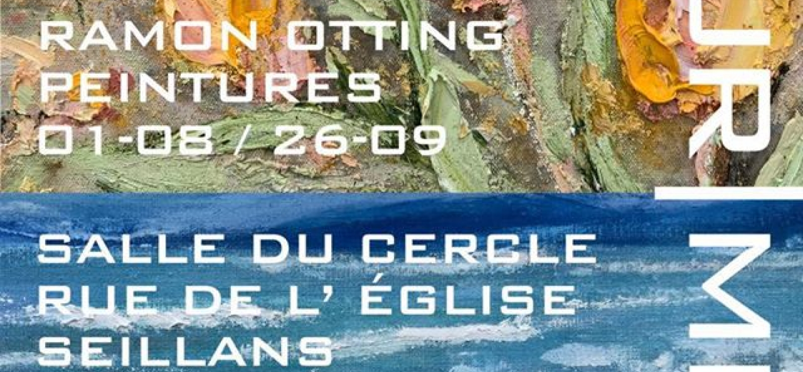 Affiche expo Ramon Otting