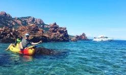 Location de kayak et Paddle avec Passion Estérel