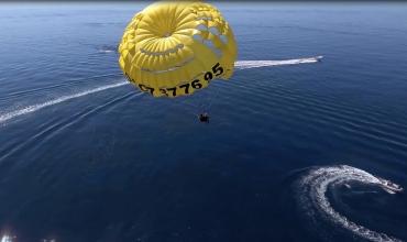 Parachute ascensionnel avec Energy Fly aux Issambres