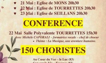 Reporté - 9ème festival de chorales CHORALLIANCE