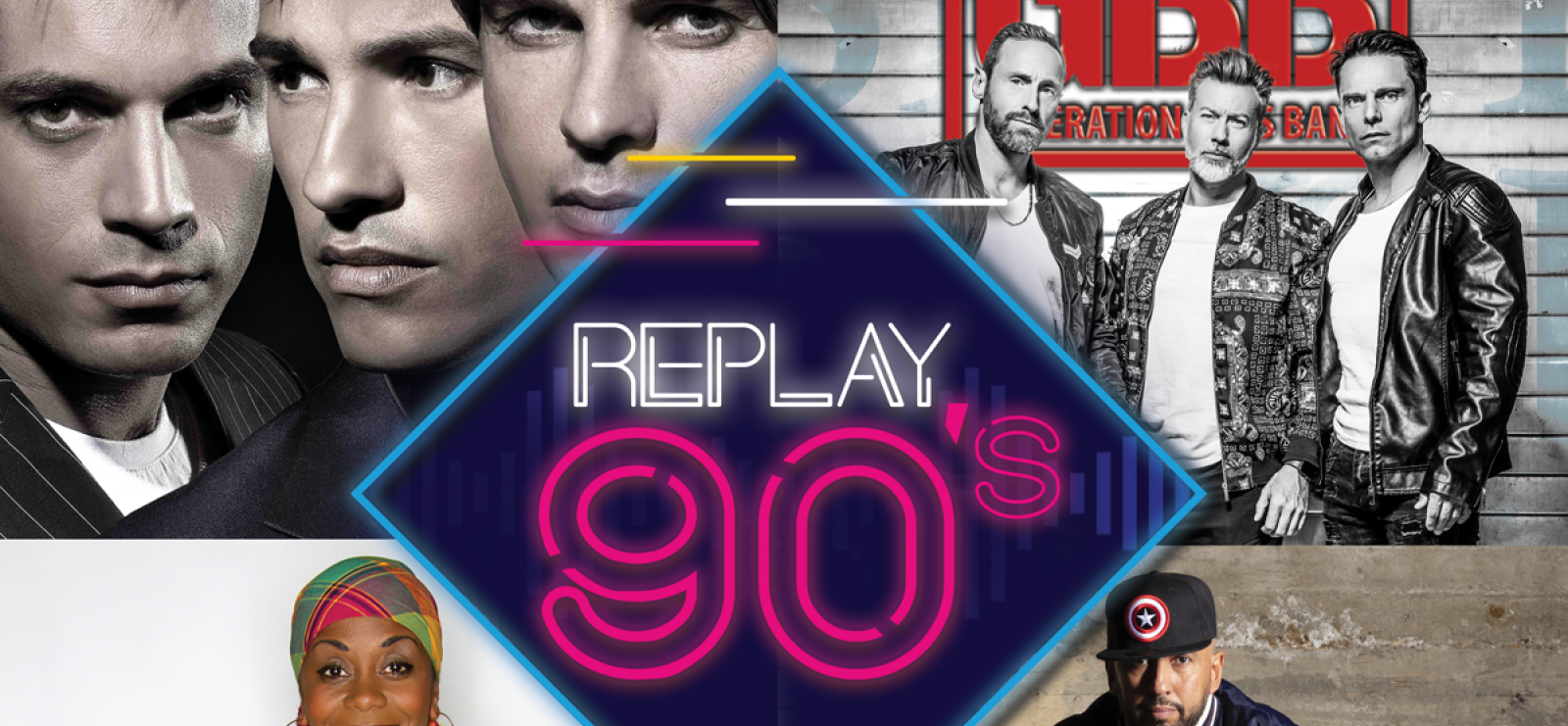 Concert Événement Replay 90's