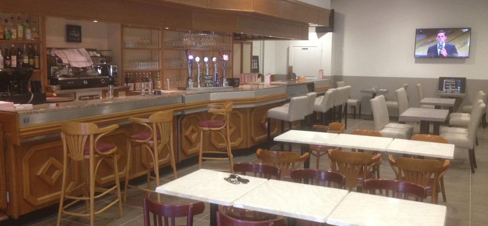 la brasserie côté bar