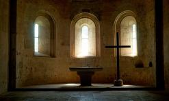Autel abbatiale