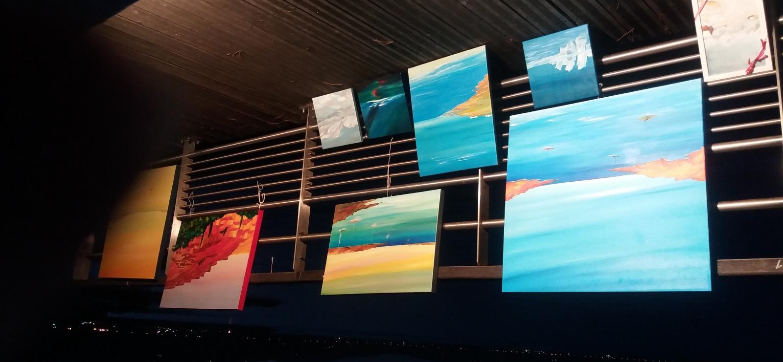 Exposition de peinture des Artistes du rocher