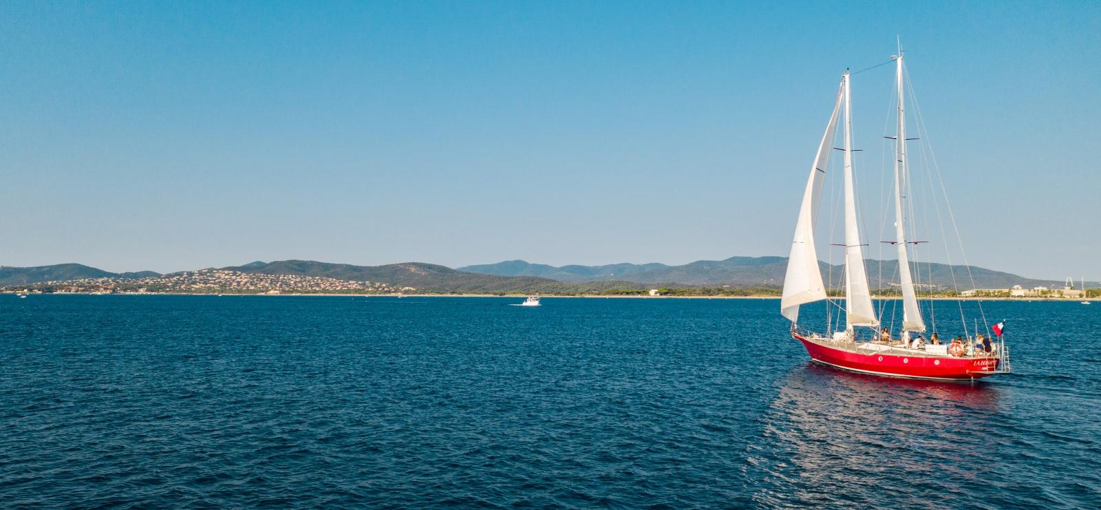 Les voiles de Saint-Tropez en voilier