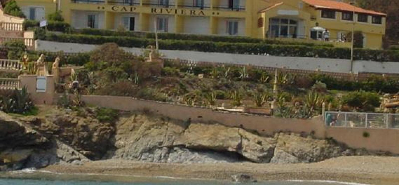 Cap Riviera - St-Aygulf - Fréjus - l'hôtel et la plage