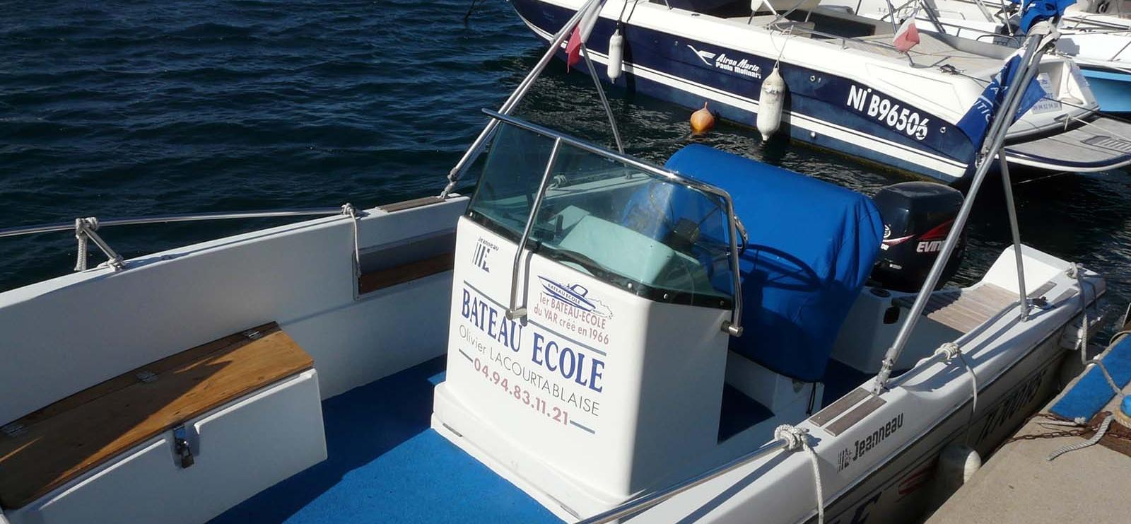 Permis bateau Lacourtablaise Olivier