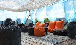 Espace lounge la plage