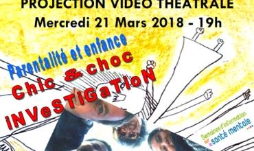Projection Vidéo Théâtrale 'Chic et Choc Investigation'