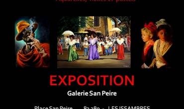 EXPOSITION PEINTURES de Bernard SANNIER